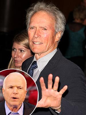 photo | Clint Eastwood, John McCain