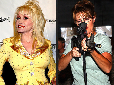 photo | Dolly Parton, Sarah Palin