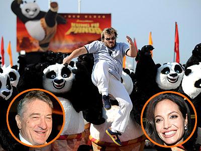 photo | Angelina Jolie, Jack Black, Robert De Niro