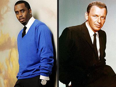 photo | Frank Sinatra, Sean \P. Diddy\ Combs