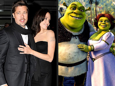 photo | Shrek, Angelina Jolie