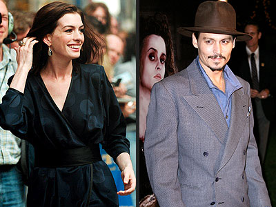photo | Anne Hathaway, Johnny Depp