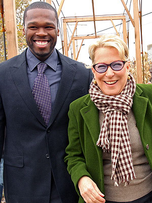 photo | 50 Cent, Bette Midler
