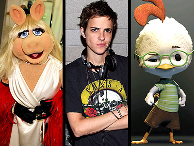 photo | Chicken Little, Miss Piggy, Samantha Ronson