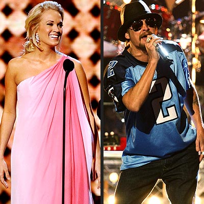 photo | Carrie Underwood, Kid Rock