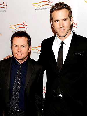 photo | Michael J. Fox, Ryan Reynolds