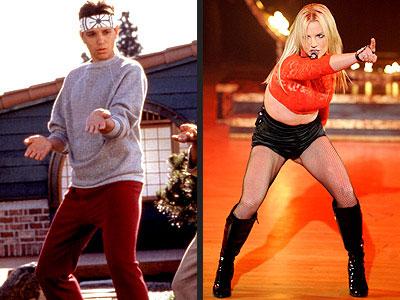 photo | Britney Spears, Ralph Macchio