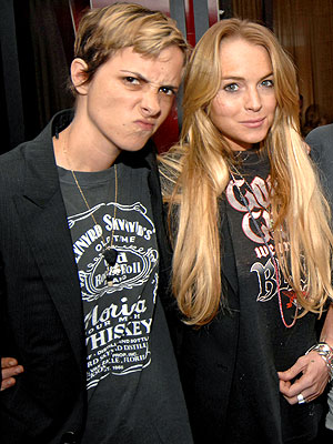 photo | Lindsay Lohan, Samantha Ronson