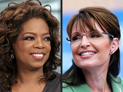 photo | Oprah Winfrey, Sarah Palin