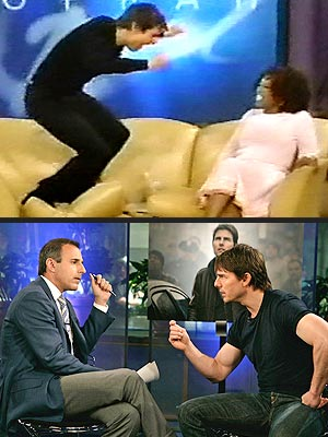  photo | Matt Lauer, Tom Cruise