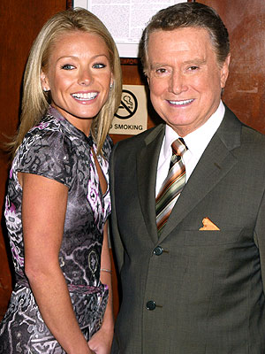 photo | Kelly Ripa, Regis Philbin