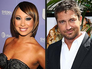 Cheryl Burke & Gerard Butler: Cozy Neighbors