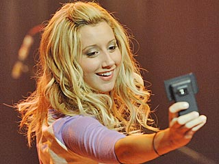 Picture This: Ashley Tisdale, a 23-Year-Old Daddy's Girl