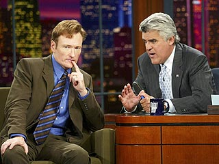 Jay & Conan Get Silly About Leno's Primetime Plunge