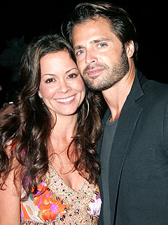 Brooke Burke Grabs a Bite with David Charvet in L.A. | Brooke Burke, David Charvet