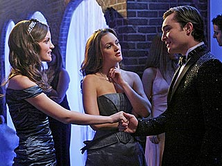 Gossip Girl: Blair & Chuck Play Naughty at Snowflake Ball