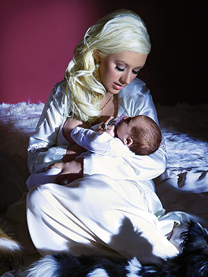 'LITTLE ANGEL' photo | Christina Aguilera