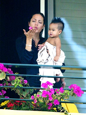 AND BABY MAKES TWO  photo | Angelina Jolie, Maddox Jolie-Pitt