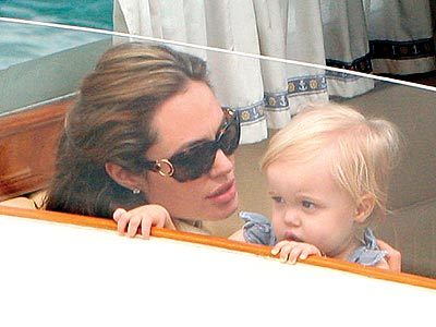 IN THE SAME BOAT  photo | Angelina Jolie, Shiloh Jolie-Pitt