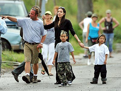LIVE & LEARN photo | Angelina Jolie, Maddox Jolie-Pitt, Pax Thien Jolie-Pitt