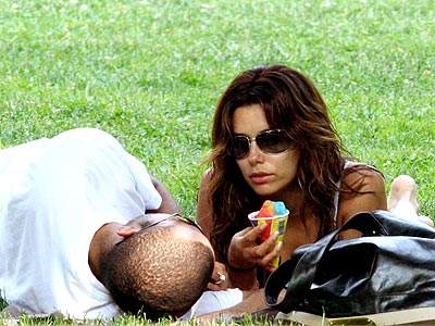 2. GET MADE IN THE SHADE  photo | Eva Longoria, Tony Parker