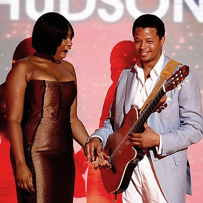 HER GUITAR HERO photo | Jennifer Hudson, Terrence Howard