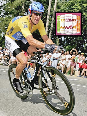 SIP LANCE&#39;S PICK-ME-UP photo | Lance Armstrong