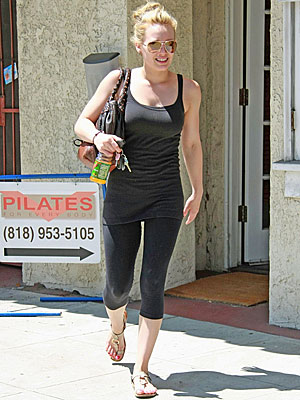 POWER UP WITH PILATES photo | Hilary Duff