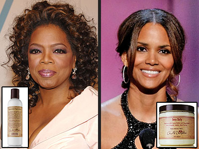 TREAT YOUR SKIN NATURALLY photo | Halle Berry, Oprah Winfrey