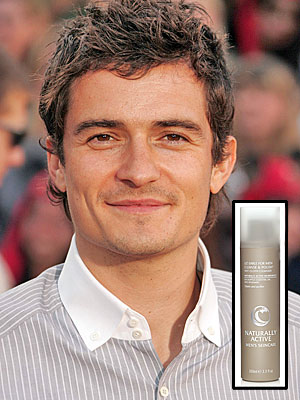 PAMPER YOUR SKIN NATURALLY photo | Orlando Bloom
