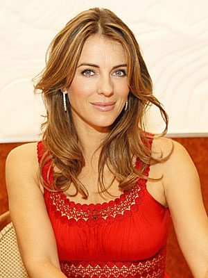 OPT FOR ORGANIC photo | Elizabeth Hurley