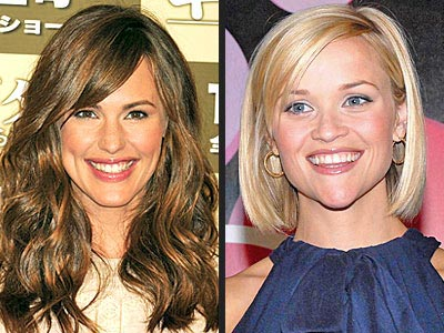 PAMPER YOUR HAIR photo | Jennifer Garner, Reese Witherspoon