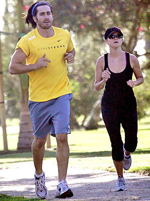 ENLIST A WORKOUT BUDDY photo | Jake Gyllenhaal, Reese Witherspoon