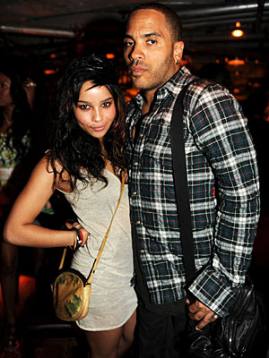 MAKE FITNESS A FAMILY AFFAIR photo | Lenny Kravitz, Zoe Kravitz