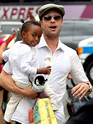 THEIR FUN FAMILY: SPECIAL DATES! photo | Brad Pitt