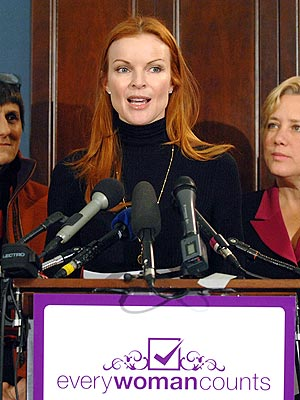 RAISING HER VOICE photo | Marcia Cross
