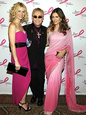 HOT PINK  photo | Elizabeth Hurley, Gwyneth Paltrow