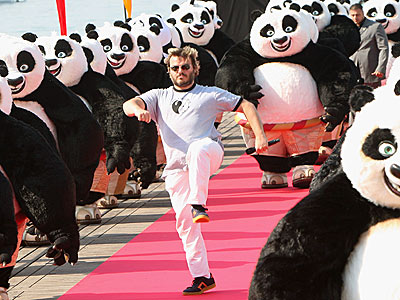 IT'S PANDA-MONIUM! photo | Jack Black