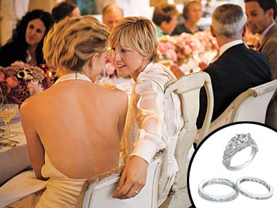 ellen amp portias wedding album an intimate sitdown