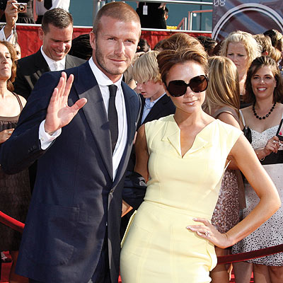 POSH ARRIVAL photo | David Beckham, Victoria Beckham