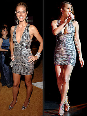 HEIDI VS. MARIAH photo | Heidi Klum, Mariah Carey