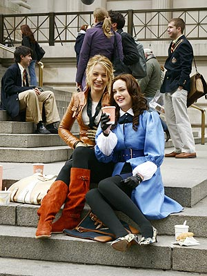 STEP SISTERS photo | Blake Lively, Leighton Meester
