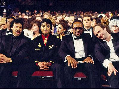 photo | Lionel Richie, Michael Jackson, Phil Collins, Quincy Jones