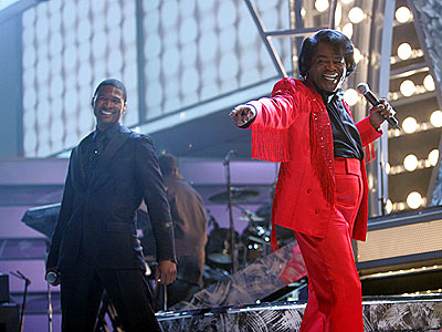 photo | James Brown, Usher