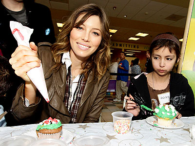 LEAVE SOME FOR SANTA! photo | Jessica Biel