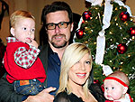 Santa's Little Helpers: Stars Get Naughty – and Nice! | Dean McDermott, Tori Spelling