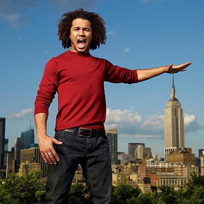 MAKING A POINT photo | Corbin Bleu