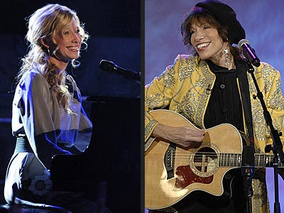 Brooke White and Carly Simon wore Bohemian Hairstyles