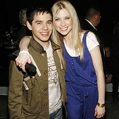 BACKSTAGE BUDDIES photo | Brooke White, David Archuleta