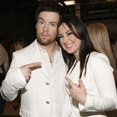 TEAM WORK photo | Carly Smithson, David Cook